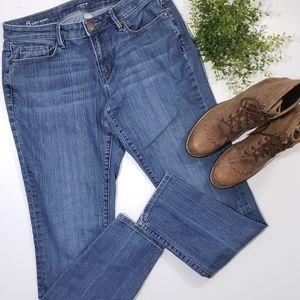 Loft Curvy Midrise Skinny Jeans
